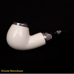 Reverse Block Meerschaum Pipe AGM-341