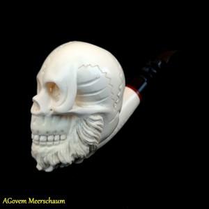 Skull Meerschaum Pipes