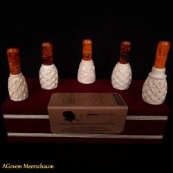 Handmade Meerschaum Cigar Holder Set, Cigar Tip, Cigar Mouthpiece AGM-248