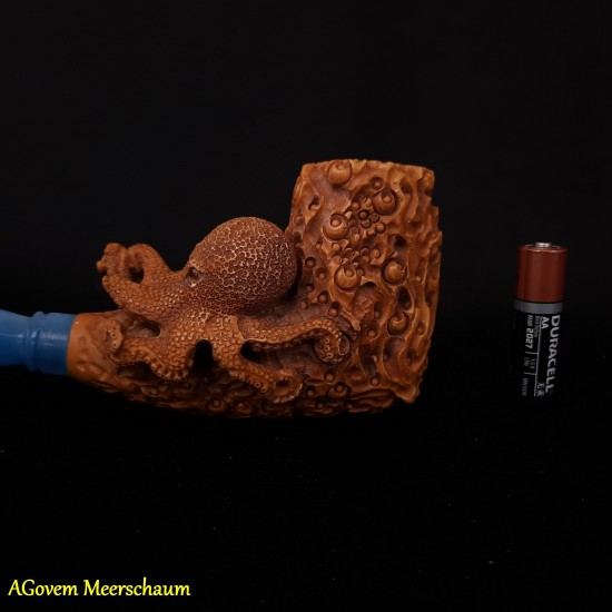 OCTOPUS Block Meerschaum Pipe AGM-362